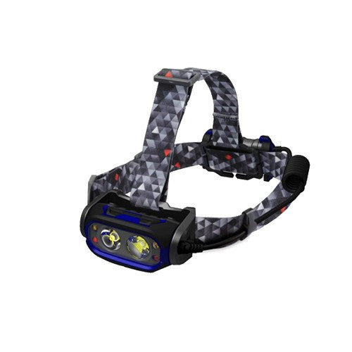 HT550R Rechargeable LED Headtorch - Steel City Lighting