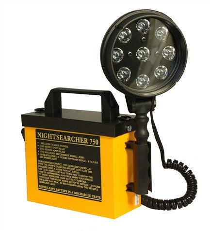 NS750LED High Power Rechargeable LED Utility Searchlight - Steel City Lighting