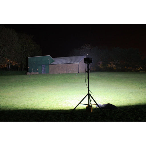 Solaris Megastar Lite 16K Portable Rechargeable Floodlight - Steel City Lighting