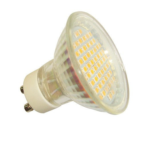 4 Watt 250lm SMD LED Warm White GU10 Lamp - Steel City Lighting