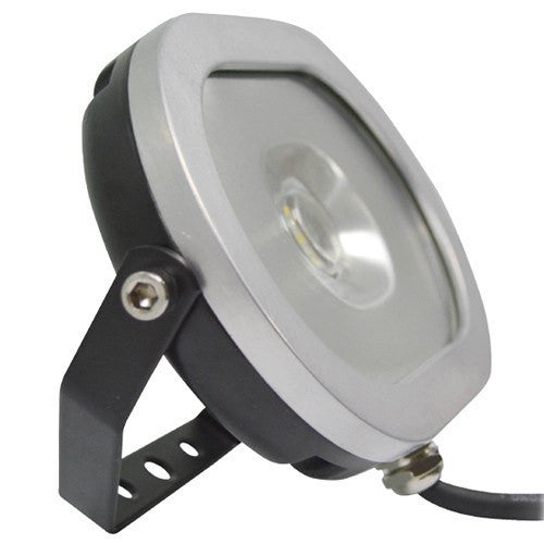 10 Watt Oval Ultra Slim LED Floodlight - Black