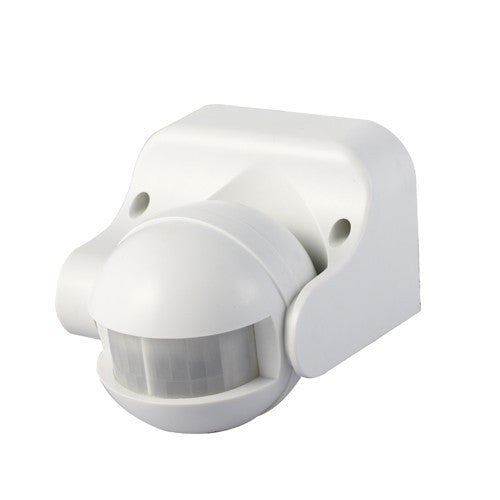 180° IP44 White PIR Sensor