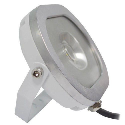 20 watt White Titan Super Slim Oval LED Floodlight - Steel City Lighting