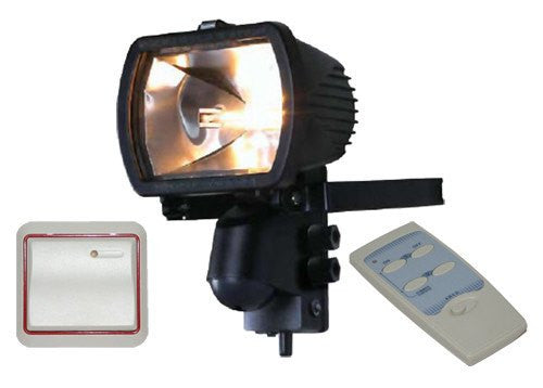 300 Watt Floodlight with Remote Control and Wireless Wall Switch - Steel City Lighting