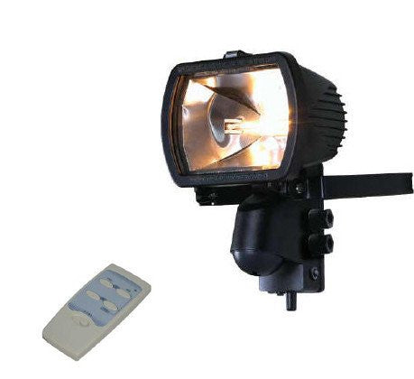 300 Watt Receiver Floodlight with Remote Control