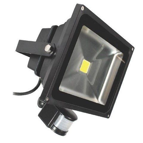 ECO 30 Watt IP65 Daylight (6500K) LED PIR Floodlight