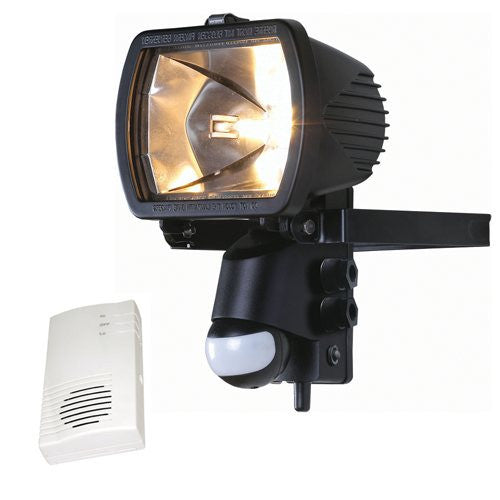 Security Pir Floodlight With Chime Receiver Pack