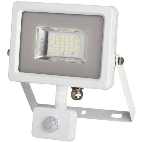 Slimstar PIR 10 Watt, 1000 lumens LED Floodlight
