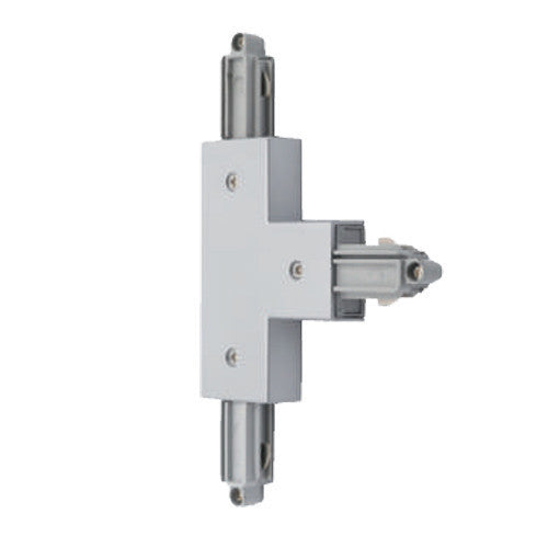 Mains Voltage Single Circuit T Connector Earth Outside