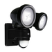 15 Watt 800lm LED PIR IP44 Twin Spot Security Light - Steel City Lighting