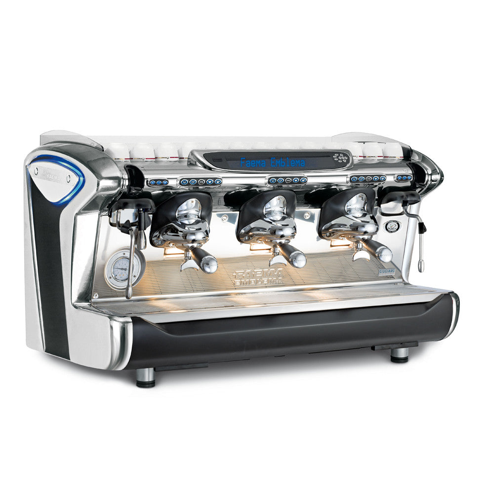 Emblema Two Group Espresso Machine with Auto Steam