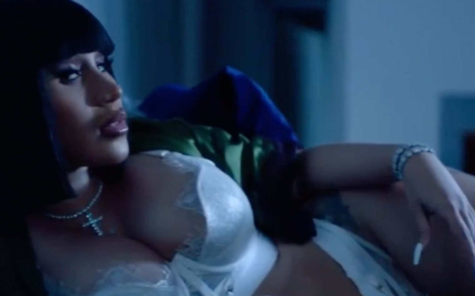 Cardi B sizzles in sexy Honey Birdette lingerie for Offset's 29th birthday | Page Six