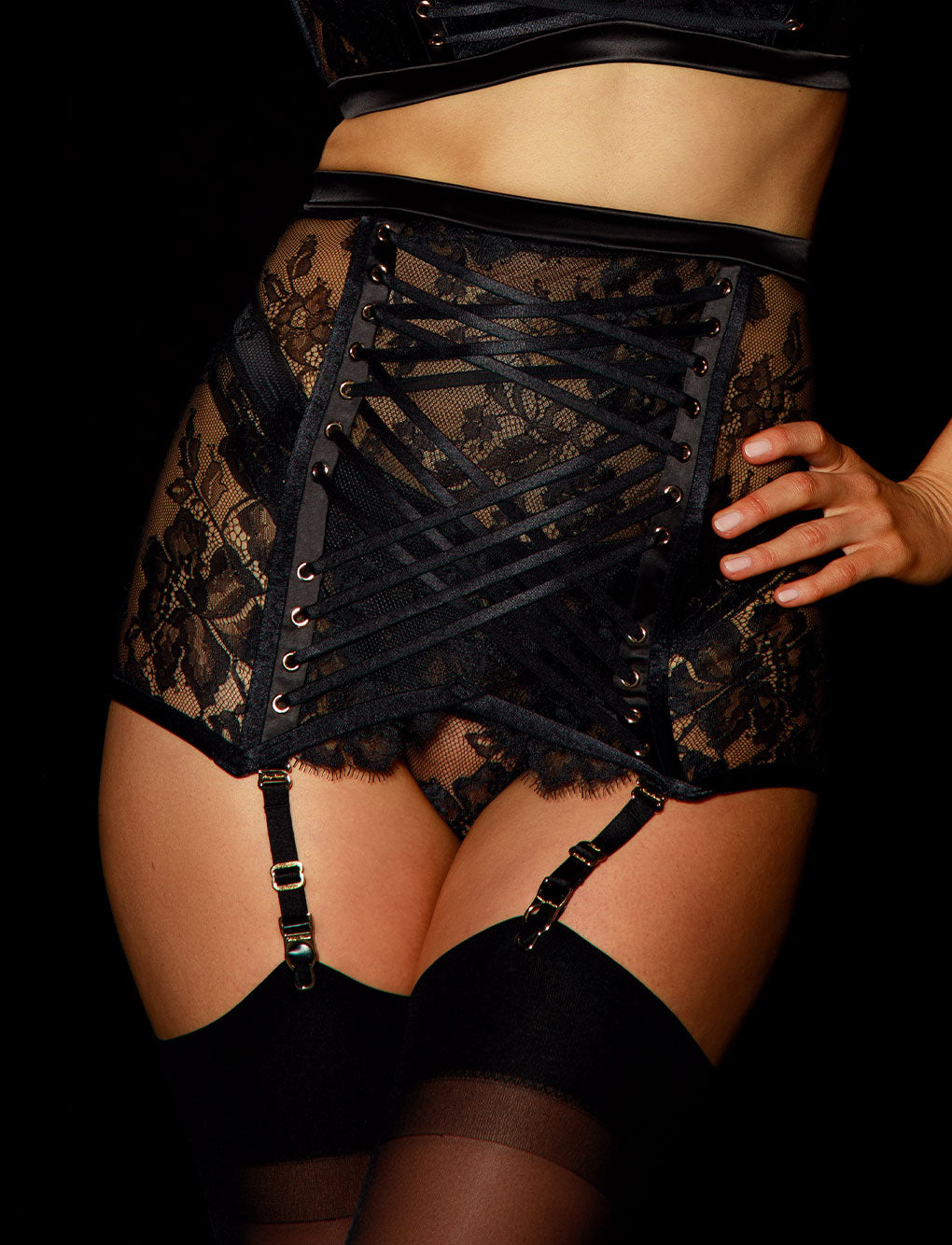 Alexandra Garter Belt | Shop Garter Belts | Honey Birdette