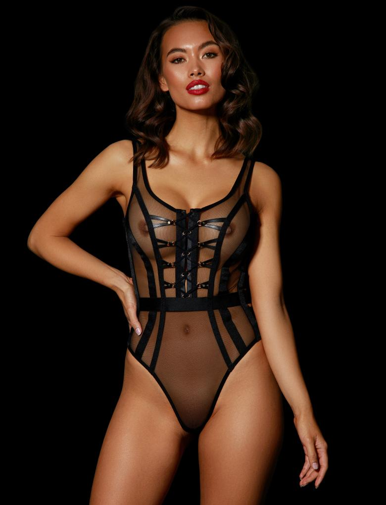 Alina Bodysuit - Shop Lingerie | Honey Birdette