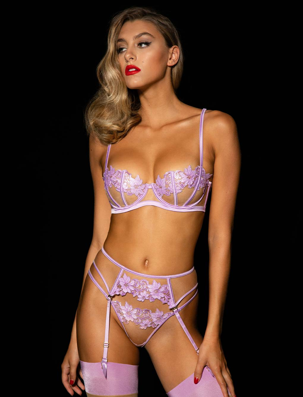 Amelie Lilac 3 Piece Set