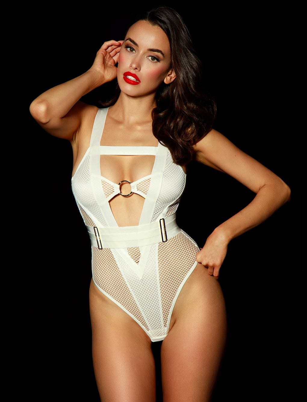 Axl Ivory Bodysuit | Shop Bodysuits & Corsets | Honey Birdette