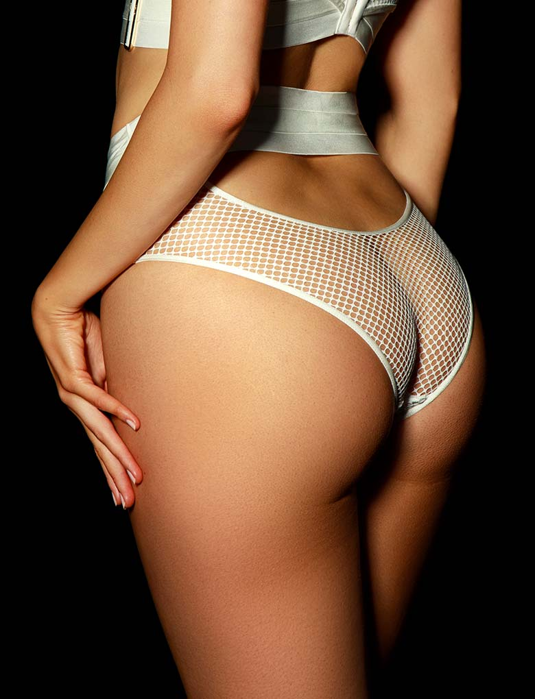 Axl Ivory Panty | Shop Panties & Hotpants | Honey Birdette