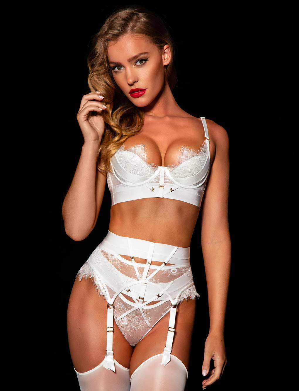 Belinda Ivory 3 Piece Set