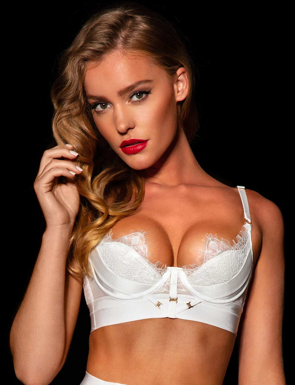 Belinda Ivory Push Up Bra
