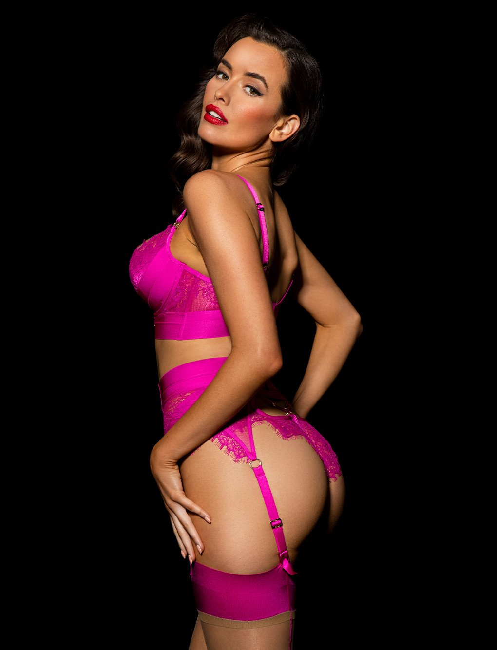 Belinda Hot Pink 3 Piece Set