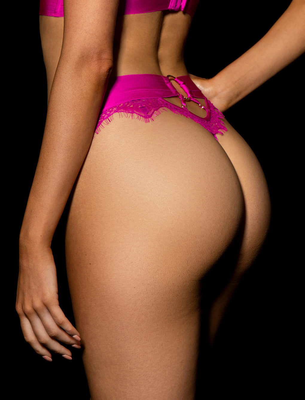 Belinda Hot Pink Thong