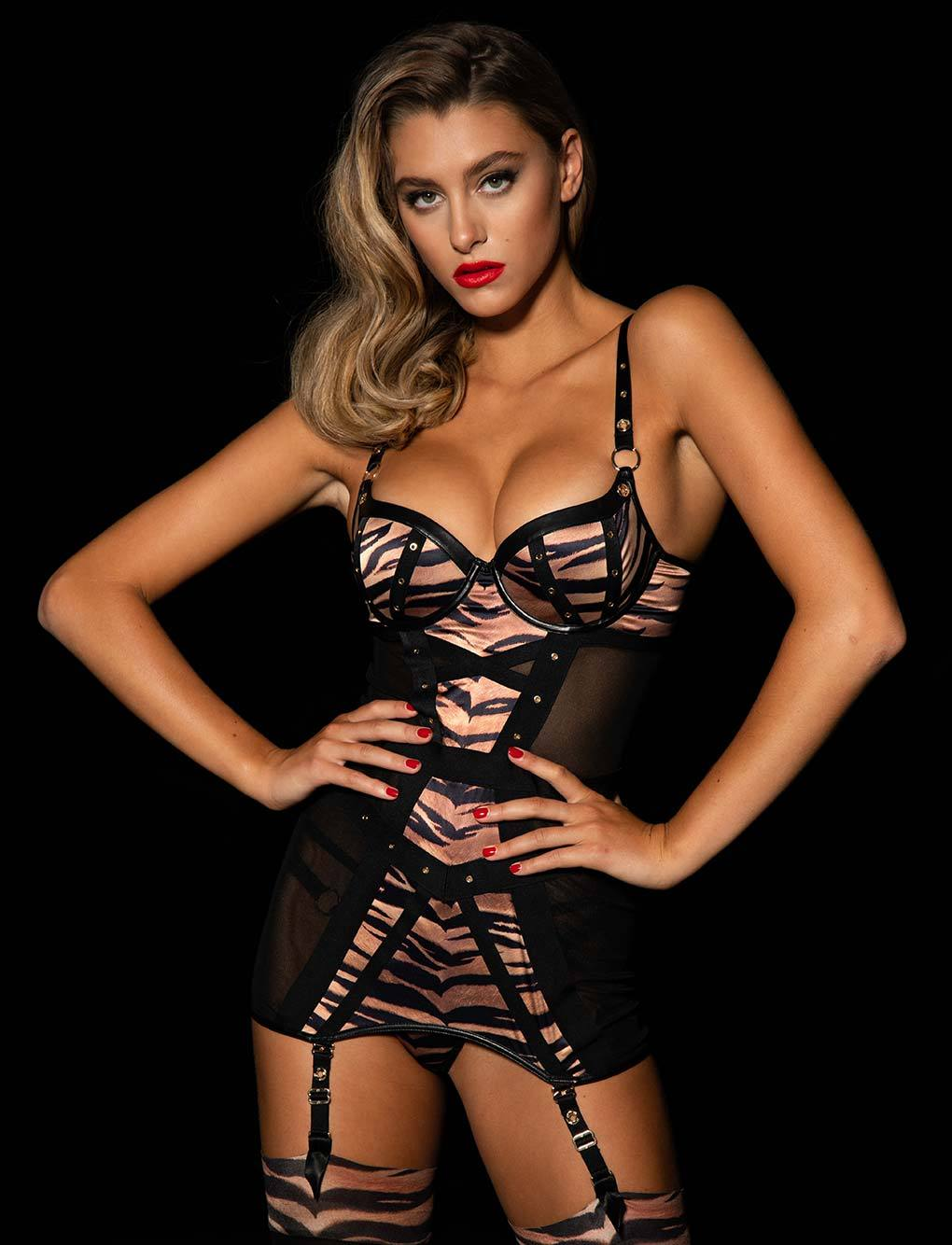 Betty Tiger Dress Set