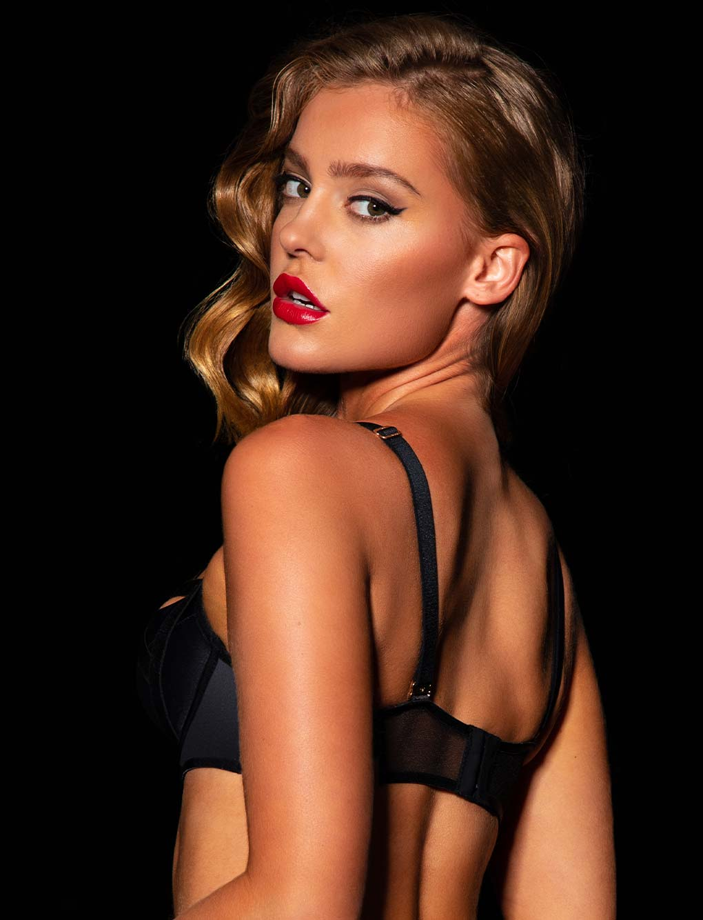 Cole Black Bra | Shop Bras | Honey Birdette