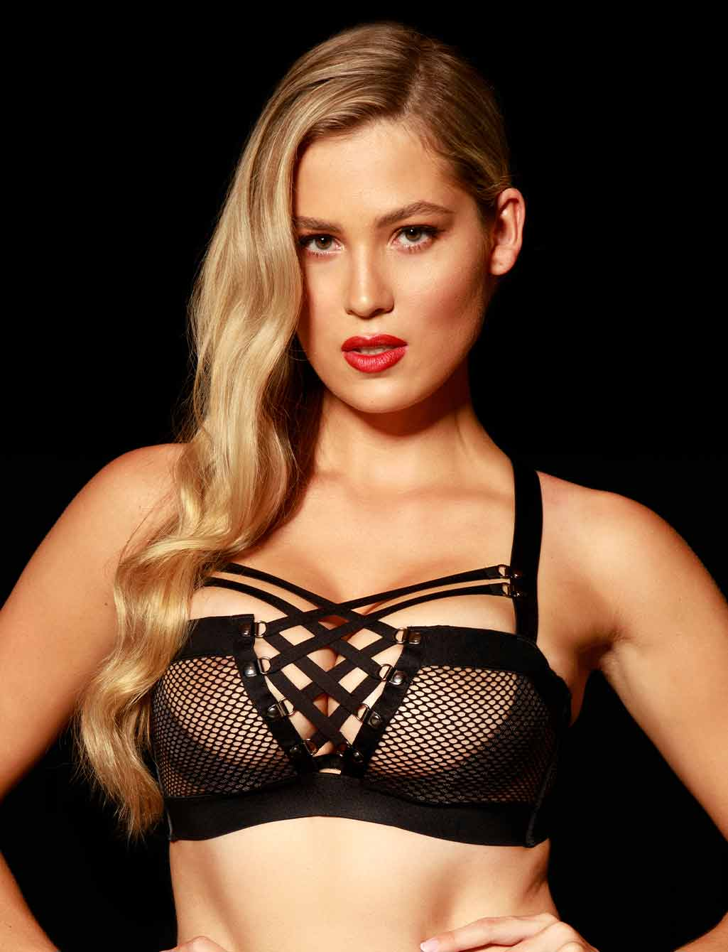 Courtney Black Push Up Bra | Shop Sexy Lingerie Honey Birdette