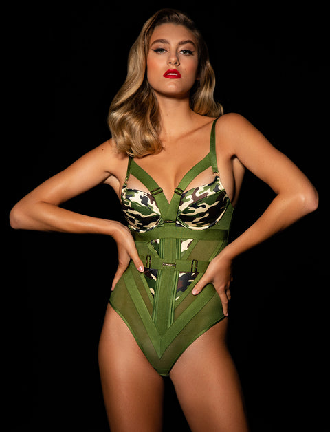 Elvis Camo Bodysuit Set