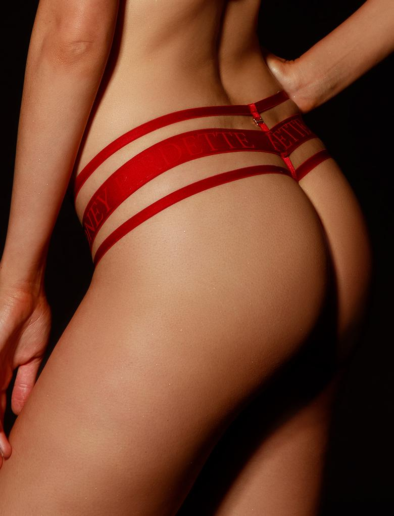 Elvis Red Thong