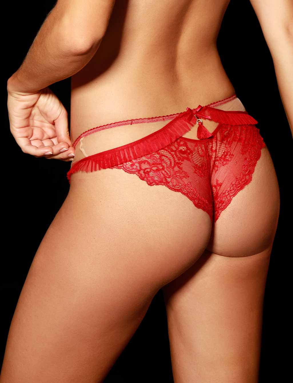 Frida Red Panty