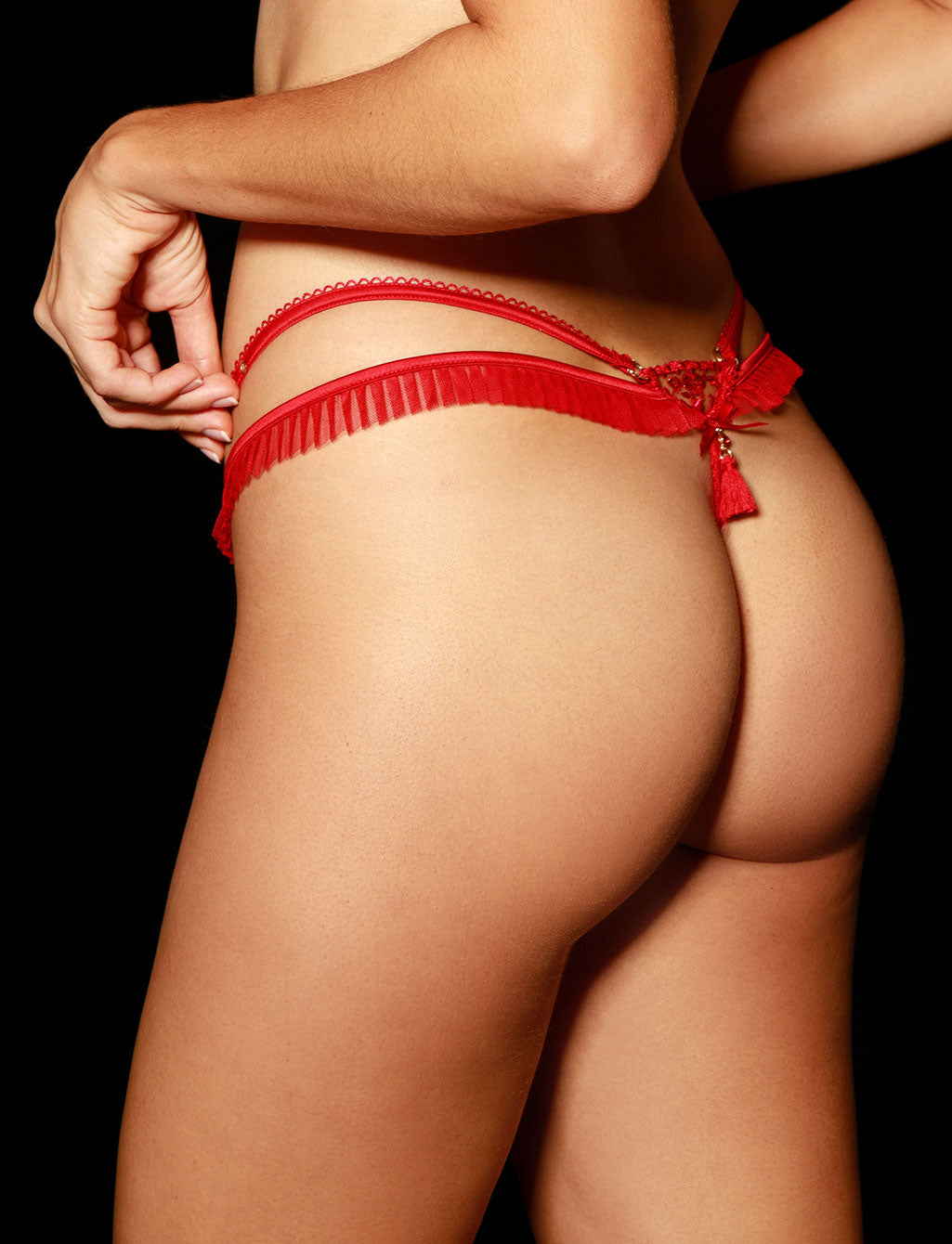 Frida Red Thong