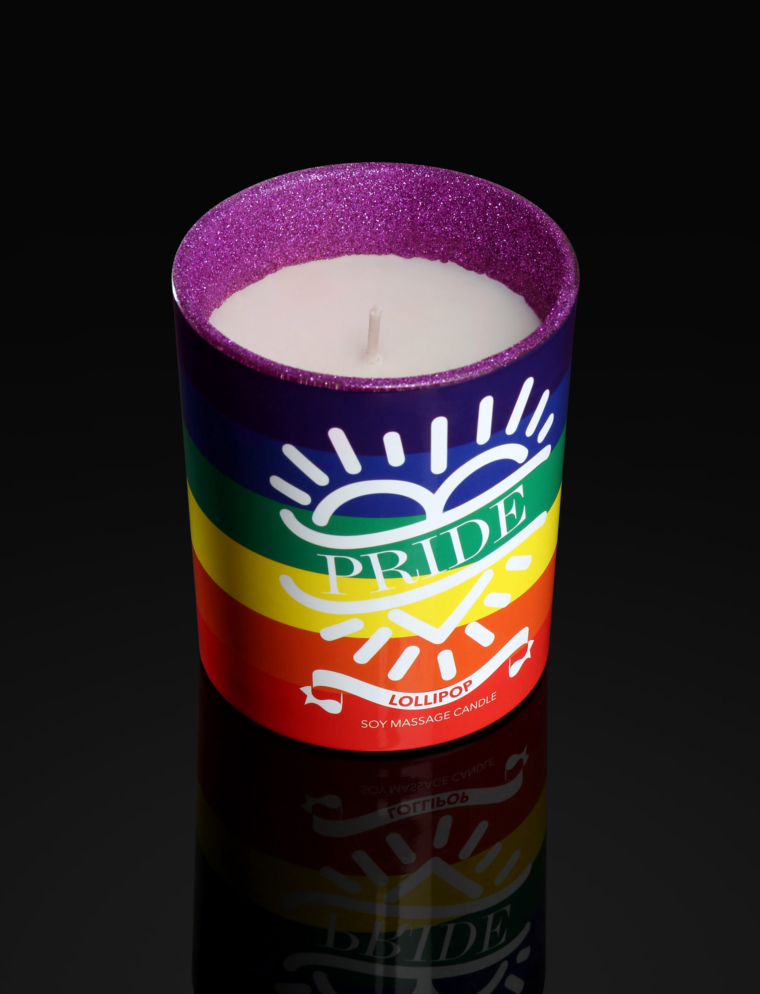 Pride Massage Candle