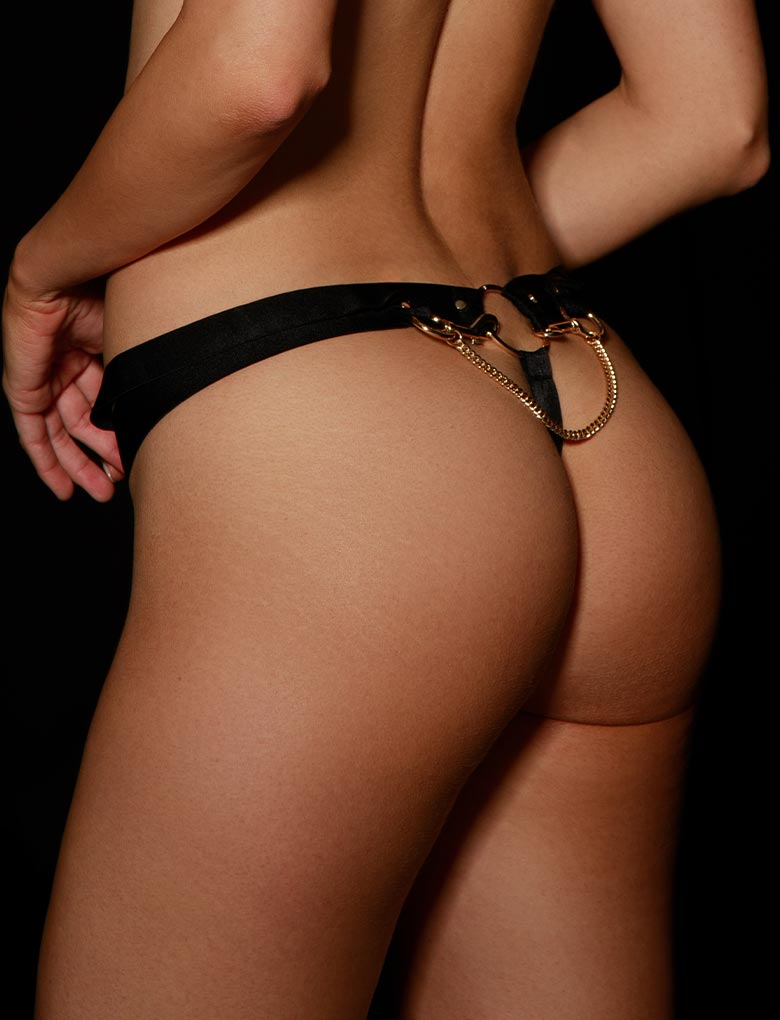 Kukuro Leopard Thong | Shop Thongs & G String | Honey Birdette