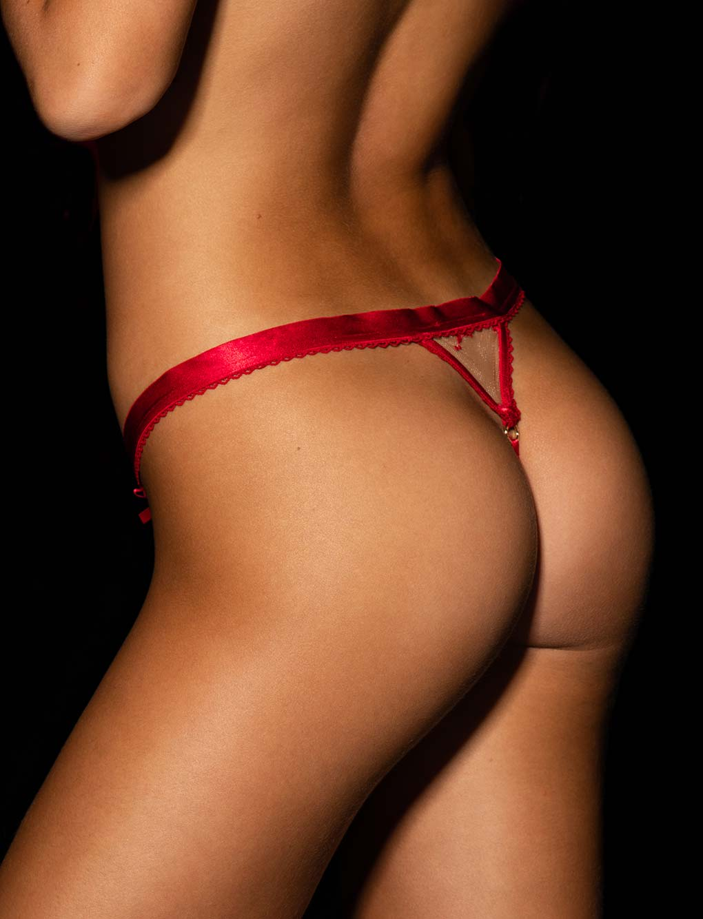 Layla Red Thong