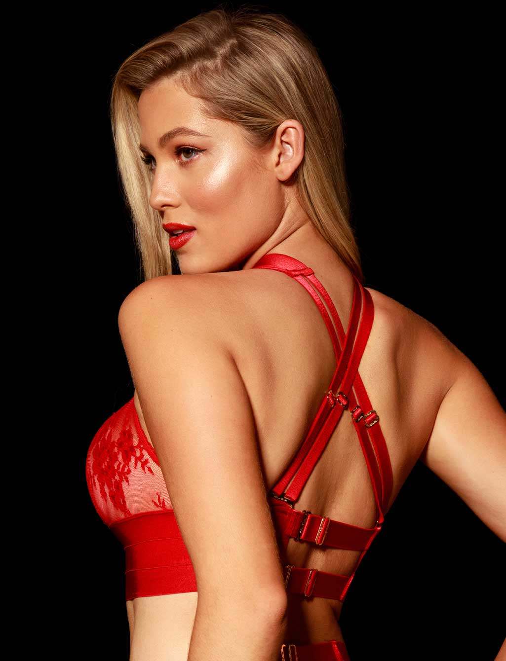 Lucille Red Sexy Lingerie | Honey Birdette