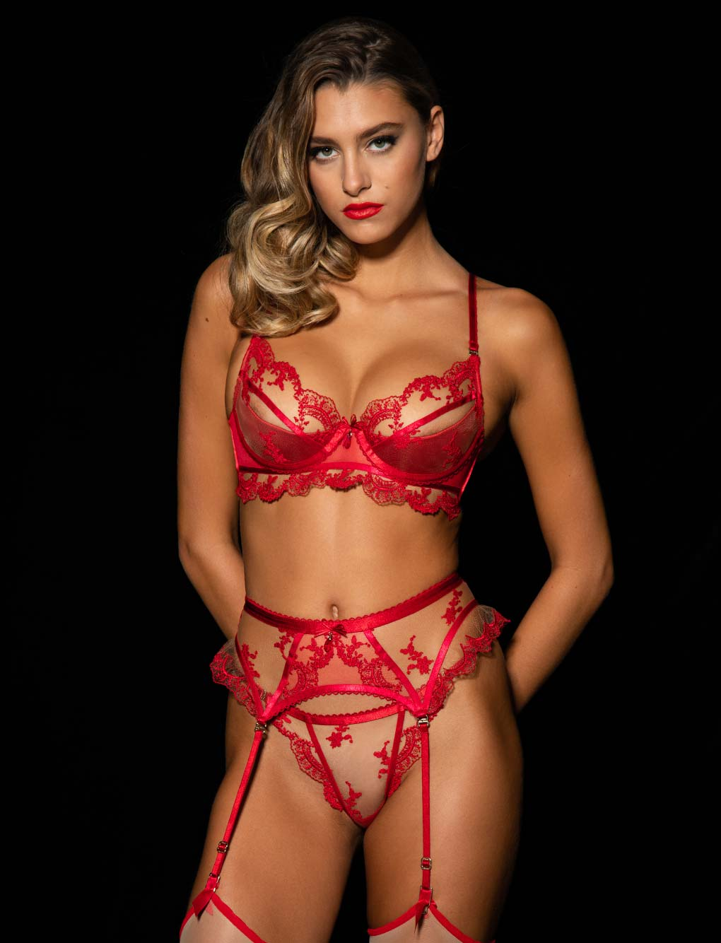 Madison Bra 3 Piece Set