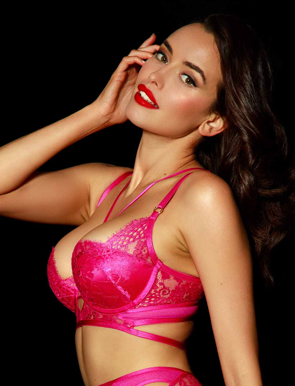 Vanessa Push Up Bra | Shop Bras | Honey Birdette
