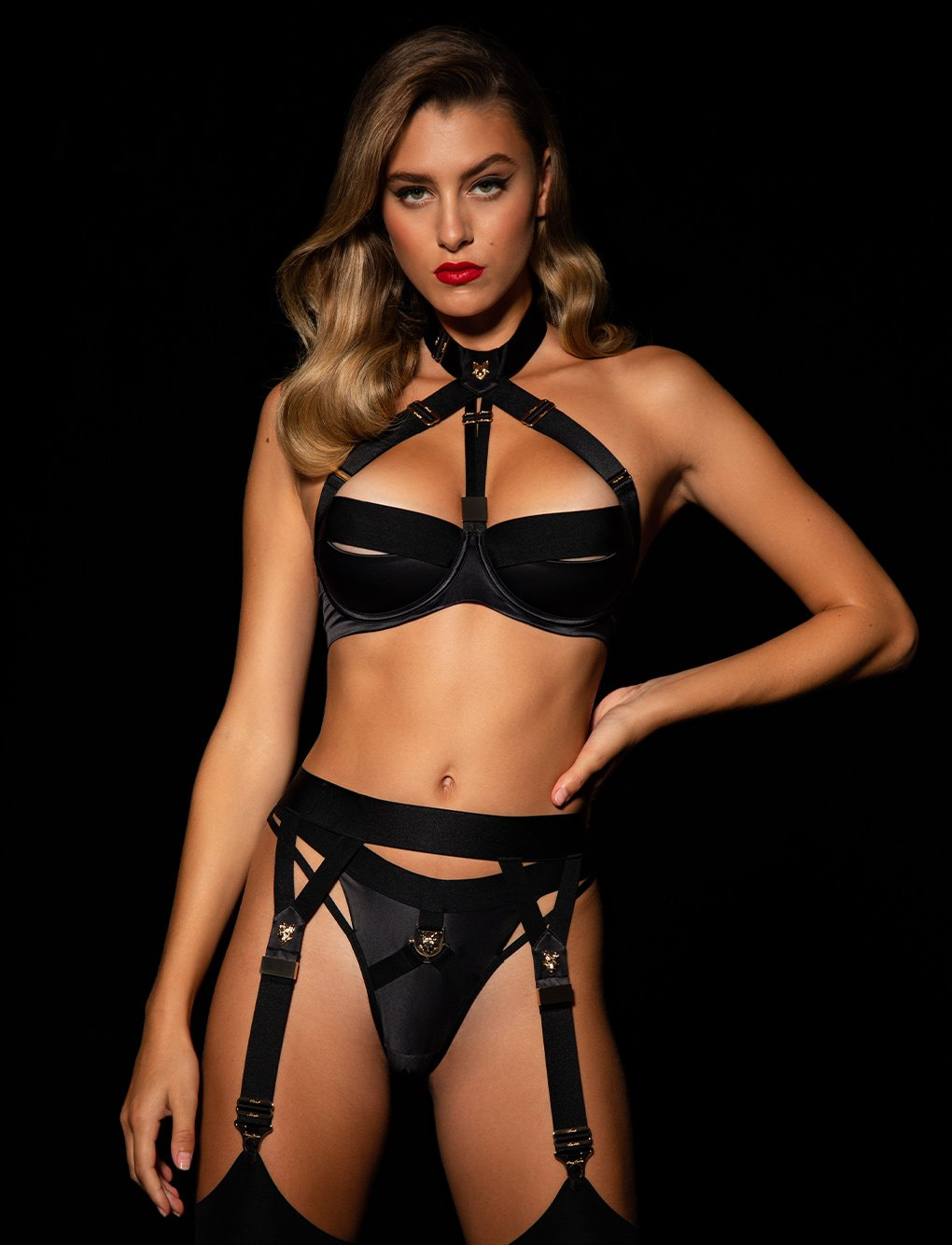 Watson Collared Bra 3 Piece Set