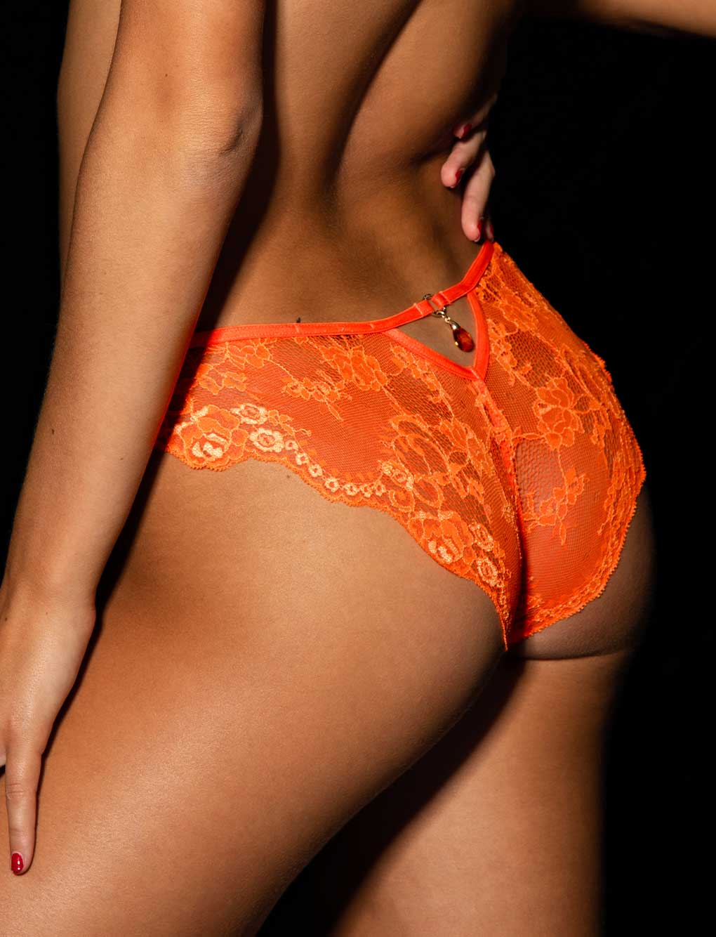 Whitney Orange Panty