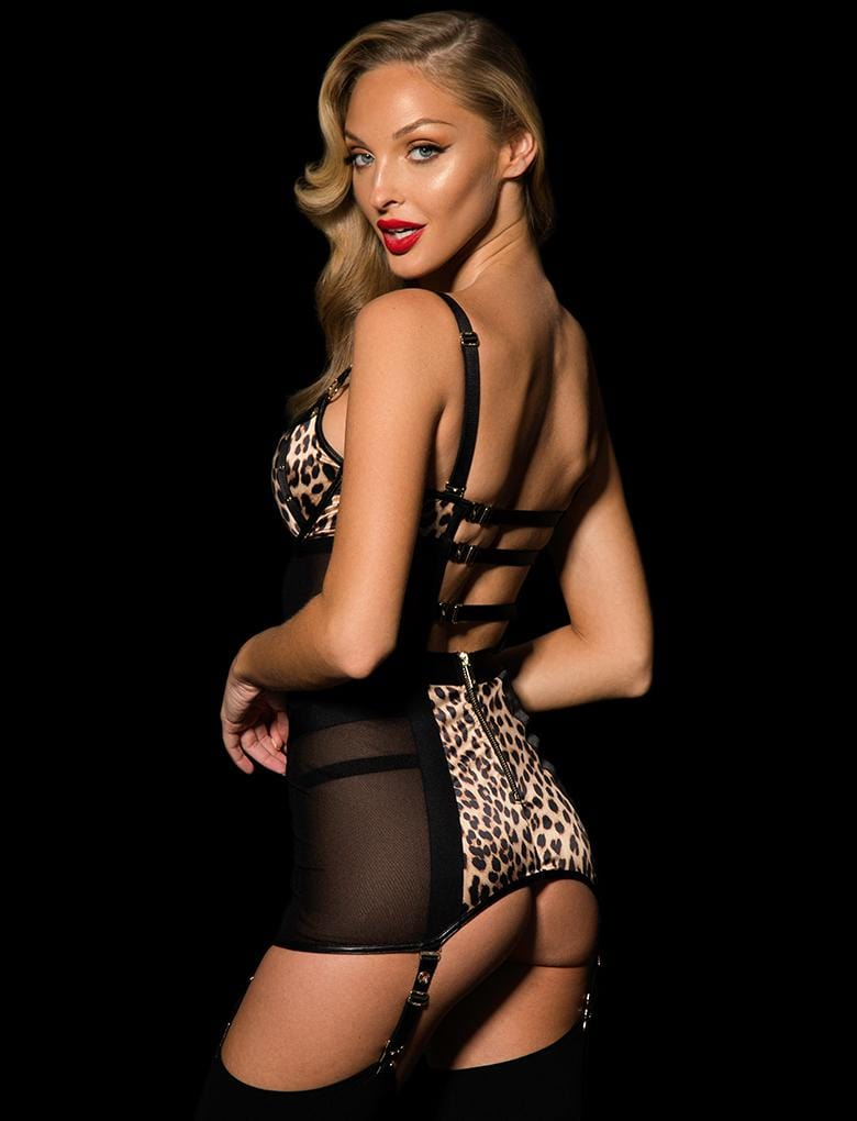 Betty Garter Belt Dress - Shop Lingerie | Honey Birdette