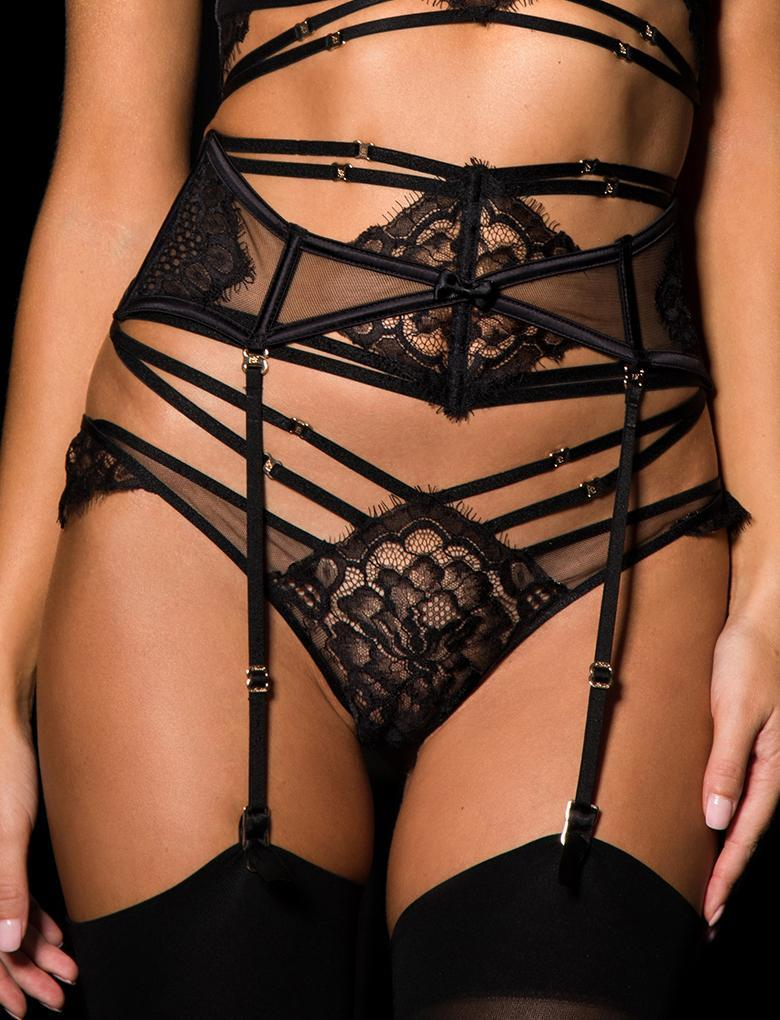 Candice Black Garter belt