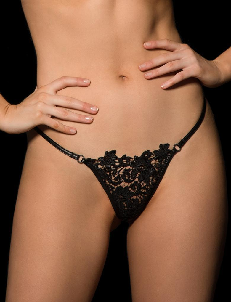 Fiorella Lace Thong - Shop Lingerie | Honey Birdette