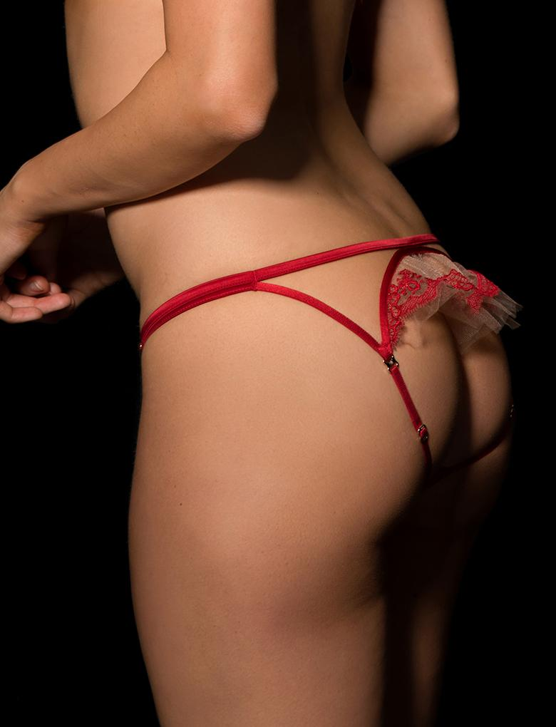 Gabrielle Open Back Panty - Shop Lingerie | Honey Birdette
