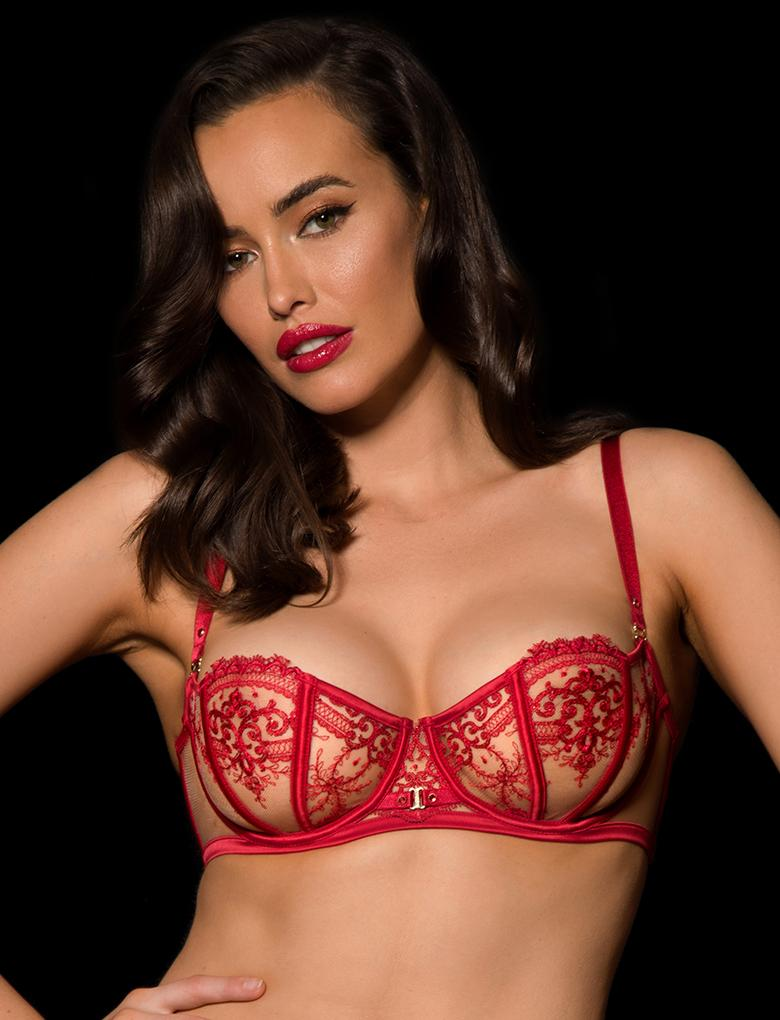 Gabrielle Underwire Bra - Shop Lingerie | Honey Birdette