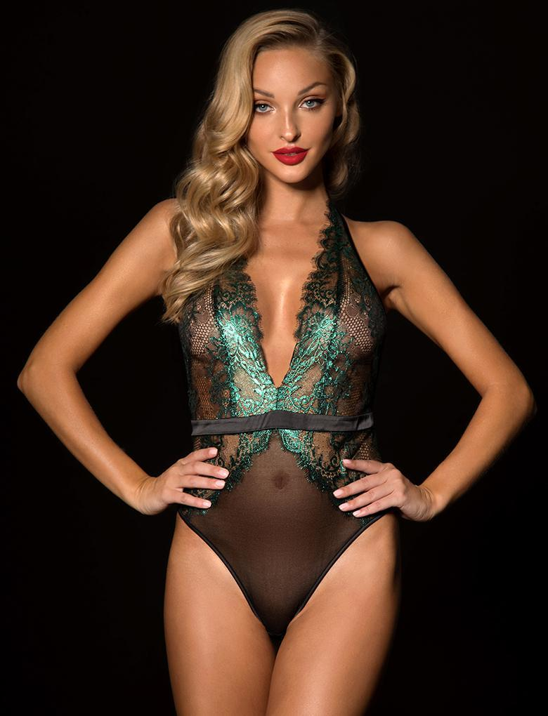 Madame Emerald Bodysuit