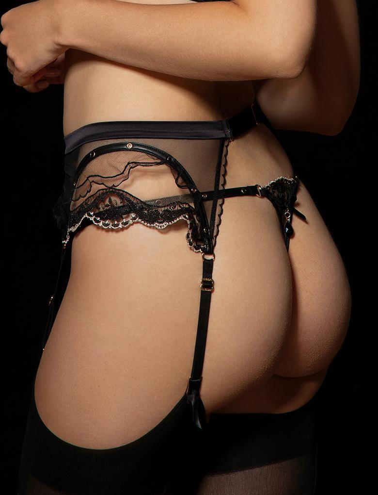 Madonna Belt Garter Belt - Shop Lingerie | Honey Birdette