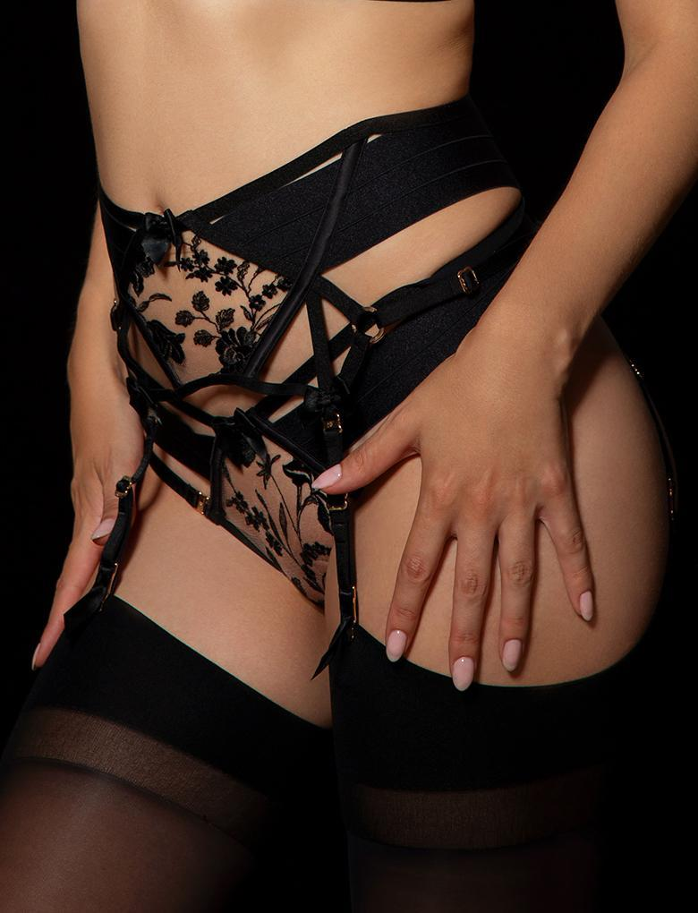 Sara Belt Garter Belt - Shop Lingerie | Honey Birdette
