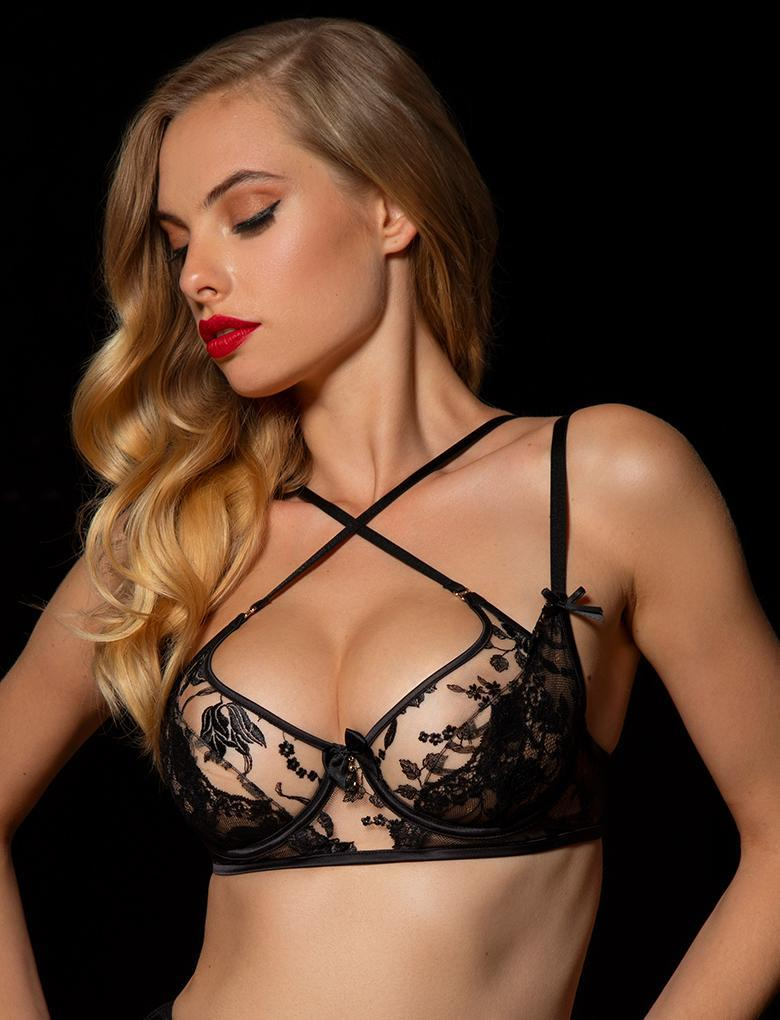 Sienna Lace Underwire Bra - Shop Lingerie | Honey Birdette