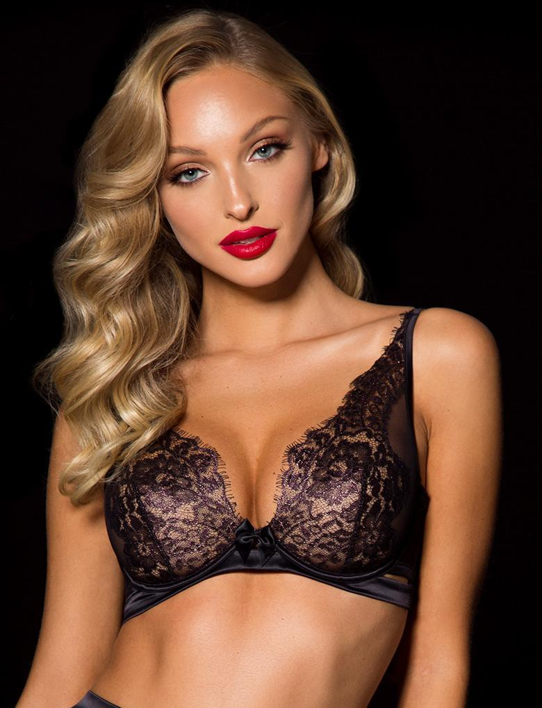 Valentina Lace Underwire Bra - Shop Lingerie | Honey Birdette